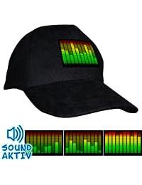 Sound Sensitive Equalizer Cap Luminous Baseball Cap