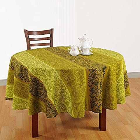 ShalinIndia Floral Print Indian Table Decoration Spring Cotton Round Tablecloths