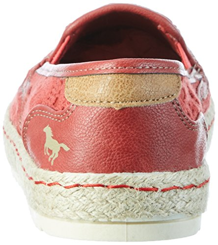 Mustang 1245-207, Espadrilles Femme Rouge (5 Rot)