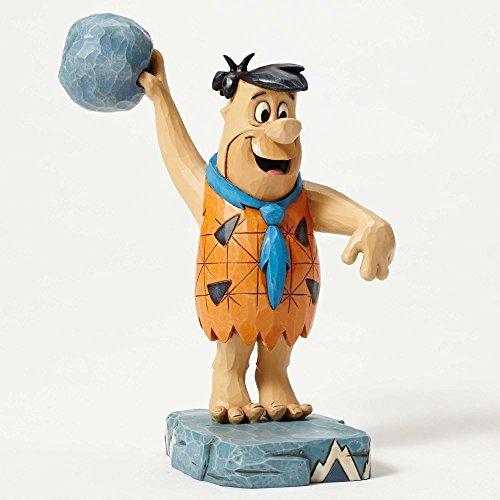 Jim Shore Hanna Barbera Twinkle Toes Bowling Fred Flintstone Figurine 4051593 by Enesco (Flintstones Bowling)