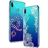 Yoowei [2-Pack] Huawei P Smart 2019 Case, Ultra Thin