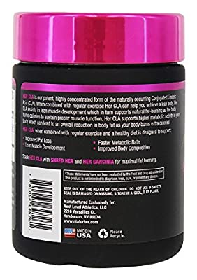NLA For Her CLA, 1200 mg, 60 Count by SETAF