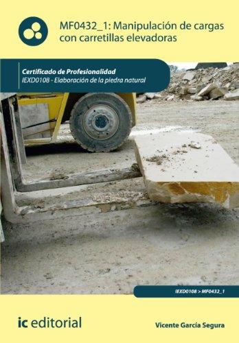 Manipulación de cargas con carretillas elevadoras. IEXD0108 (Spanish Edition)