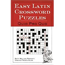 Easy Latin Crossword Puzzles: Quid Pro Quo (Basic Japanese)