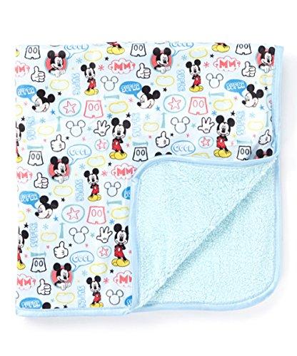 Disney Mickey Mouse Plush Baby Throw Blanket