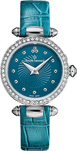 Claude Bernard 20209 3P BUPIN Blue Dress Classic Ladies Watch