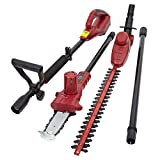 Trueshopping® 3 In 1 Chainsaw Hedge Trimmer Extension Pole Garden Multi Tool 18V Lithium-Ion Battery Cordless Electric Powered Lightweight Quiet