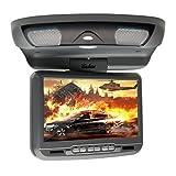 Ouku-schwarz 9 'Dach montieren Auto-DVD-Spieler mit Spielen Trasmettitore IR, Unterstützung von SD/USB, FM-Sender