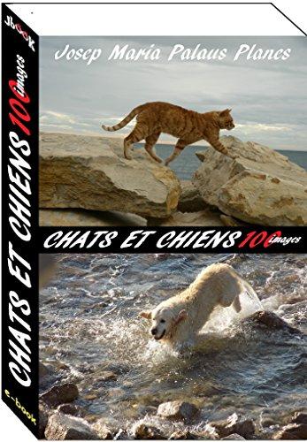 Couverture du livre chats et chiens (100 images)