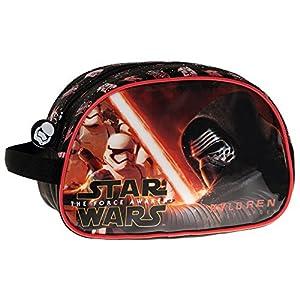 Disney Star Wars Neceser de Viaje, 3.36 litros, Color Negro