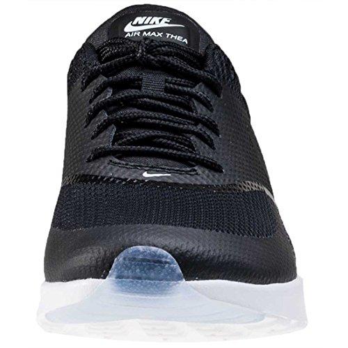 Nike - 616723-014, Wmns Air Max Thea Premium Black Unisex – Adulto BLACK/BLACK-BLUE-TINT