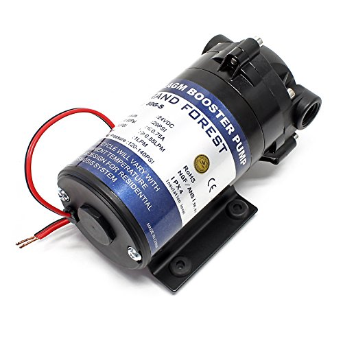 Naturewater Booster Pumpe 50 GPD NW-R050-D1 GFP-50G Umkehrosmose Anlage -