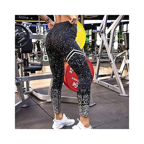 c7553a98dee15 High Waist Fitness Women Workout Gold Print Leggings Activewear Sportswear  Jeggings