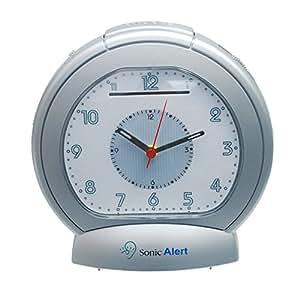 Geemarc SBA475 - analoger Vibrationswecker mit extra lautem Alarm 80 dB