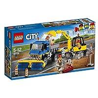 LEGO City 60152 - Straßenreiniger und Bagger