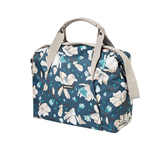 Basil Unisex's Magnolia Carry All Cycle Bag, Teal Blue, 18 Litre