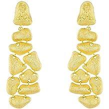 14ct oro Amarillo Pendientes