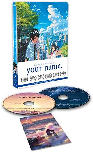 Your Name Blu-Ray Edicón Metálica [Blu-ray] 51mLjXOyM6L