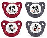 NUK 10176032 - Silikon Beruhigungssauger Disney Mickey Gr. 2