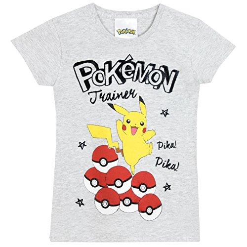 Pokemon - Maglietta a maniche corte - Pokemon - Ragazza - 7 a 8 Anni