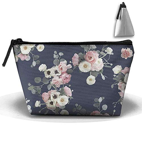 Portable Travel Floral Storage Pouch Cosmetic Toiletry Bags Organizer Travel Accessories -