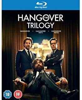 The Hangover Trilogy [Blu-ray] [2009] [Region Free] (B00DUF0IFO) | Amazon price tracker / tracking, Amazon price history charts, Amazon price watches, Amazon price drop alerts