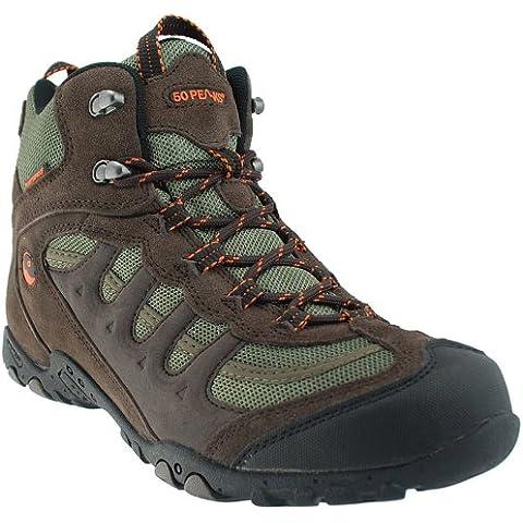 Hi-Tec Men's Penrith Mid Waterproof Walking Boots T782F