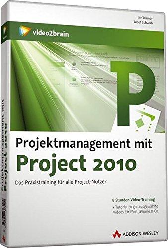 Projektmanagement mit Project 2010 - Videotraining (Microsoft Project 2010 Software)