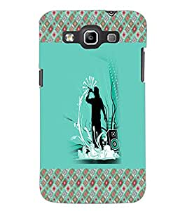 PrintDhaba Music D-3264 Back Case Cover for SAMSUNG GALAXY WIN i8552 (Multi-Coloured)