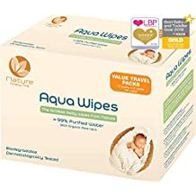 Toallitas húmedas Aqua Wipes, (12 x 12 toallitas de viaje (144 toallitas)