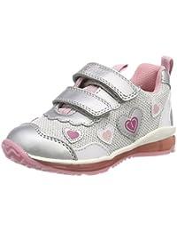 Geox B Todo Girl A, Zapatillas para Bebés