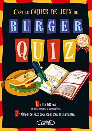 Burger quiz - Le cahier de jeux par  Alain Chabat, Benoit Oullion, Piano