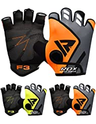 RDX Gym Weight Lifting Gloves Workout Fitness Bodybuilding Crossfit Breathable Powerlifting Wrist Support Strength Training Exercise