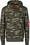 Alpha Industries Herren Hoodies X-Fit Camouflage XL