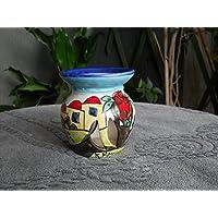 Brucia essenze in ceramica. Regalo di Natale. Le ceramiche di Ketty Messina