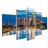 bilderfelix® Schöne Aussicht auf Frankfurt am Main