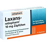 Laxans-ratiopharm 10 Zäpfchen, 10 St.