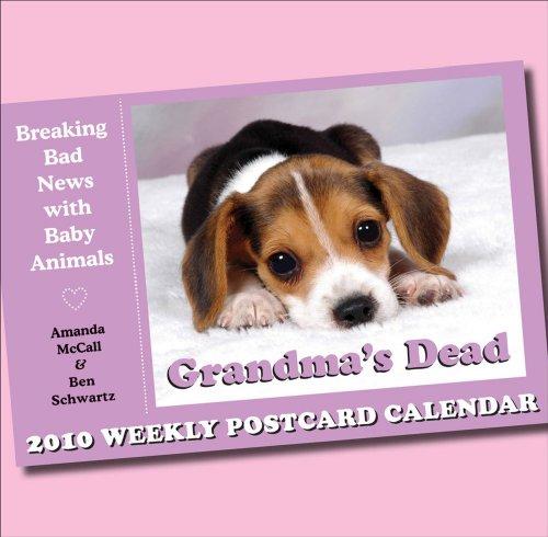 Grandma's Dead: 2010 Postcard Day-to-Day Calendar
