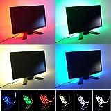 JnDee ™ USB Multi Farben RGB 100cm 39in Farbwechsel LED Strip Licht Led Tv Hintergrund Beleuchtung Kit