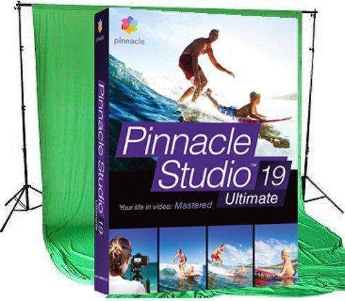 Corel Pinnacle Studio 19 Ultimate inkl. Chroma Key Tuch (180x160)
