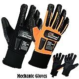 Arbeit Sicherheit Handschuhe für mechanic-garages-cycling & Motorrad Handschuhe Gr. M bis 2X L