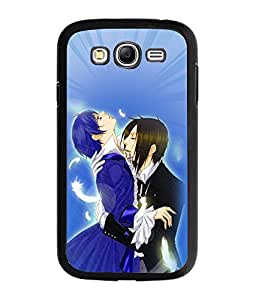 Fuson Love Couple Back Case Cover for SAMSUNG GALAXY GRAND - D3834
