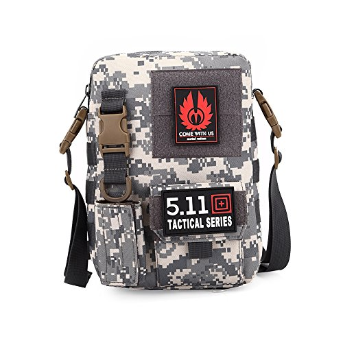 Faysting EU borsa a spalla borsa a tracolla per uomo studenti uniforme militare stile vari colori per scegliere buon regalo B