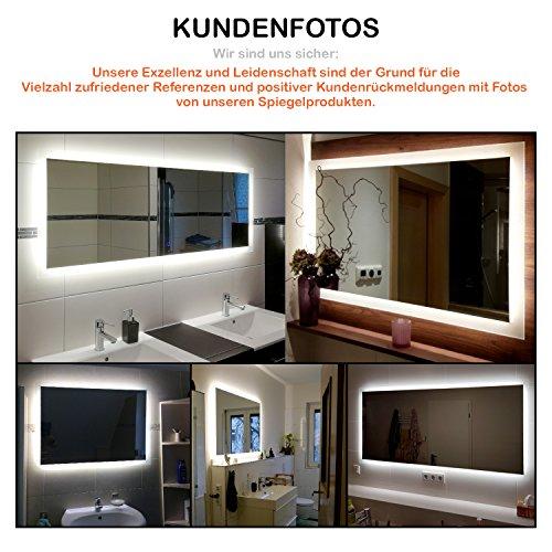 Badspiegel LED mit Beleuchtung – 150 cm - 4