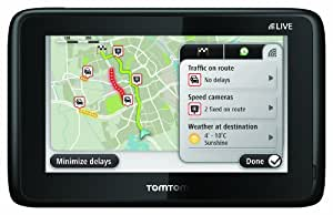 TomTom GO LIVE 1005 EU HDT M - 5 Inch Sat Nav with Europe Maps (45 countries) Plus 3 Years Free LIVE Services (discountinued by manufacturer)