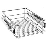 AOFENG cajón bandeja de armario cajón extraíble cajón de cocina Estantería Dormitorio Cocina cesta para cajones, 60 cm
