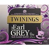Twinings Earl Grey 100 Tea Bags (Pack of 4, total 400 Tea Bags)