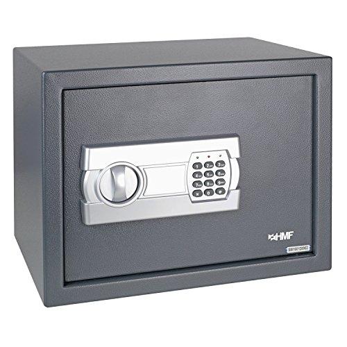 HMF Tresor Safe Möbeltresor Elektronikschloss 380 x 300 x 300 mm - 2