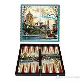 Unbekannt staroyun staroyun102053122,5x 46x 5,5cm touristischen Istanbul privaten Backgammon