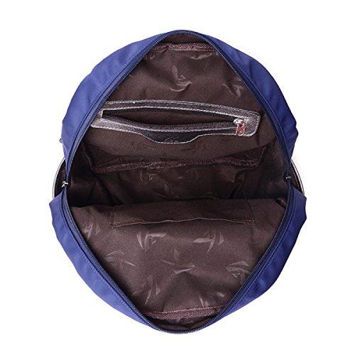 Nylon Beiläufiger Sportrucksack-Schulterbeutel-Spielraumbeutel Purple
